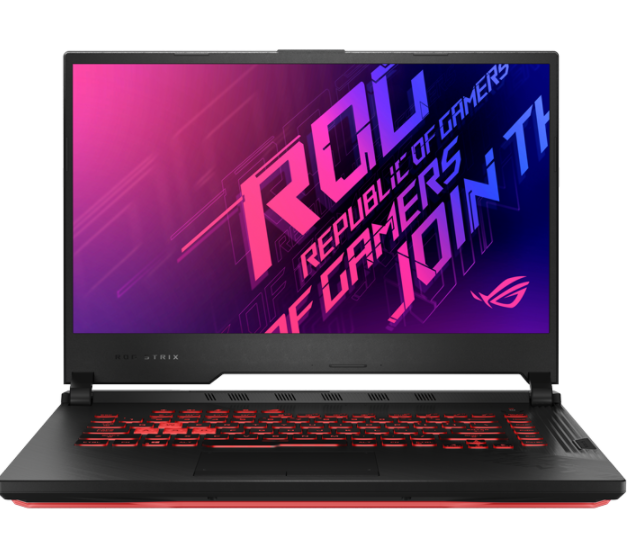Laptop Asus Gaming ROG STRIX G512L-UHN145T/ Black/ Intel core i7-10750H/ Ram 8GB DDR4/ SSD 512GB/ GeForce GTX1660Ti 6GB GDDR6/ 15.6 inch FHD 144Hz/ 4Cell/ Win 10SL/ 2Yrs