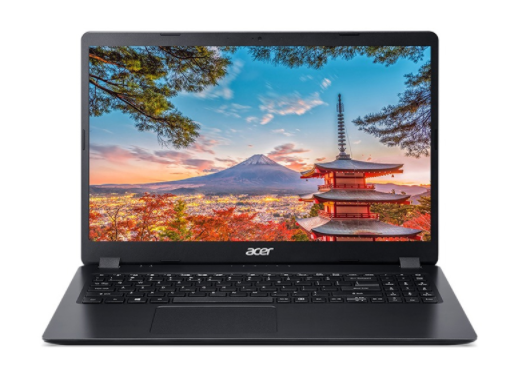 Laptop Acer Aspire 3  (NX.HEESV.00J)/ Black/ Intel core i3-8130U/ Ram 4GB DDR4/ SSD 256GB/ 15.6 inch FHD 60Hz/ WC/ Win 10H/ 1Yr