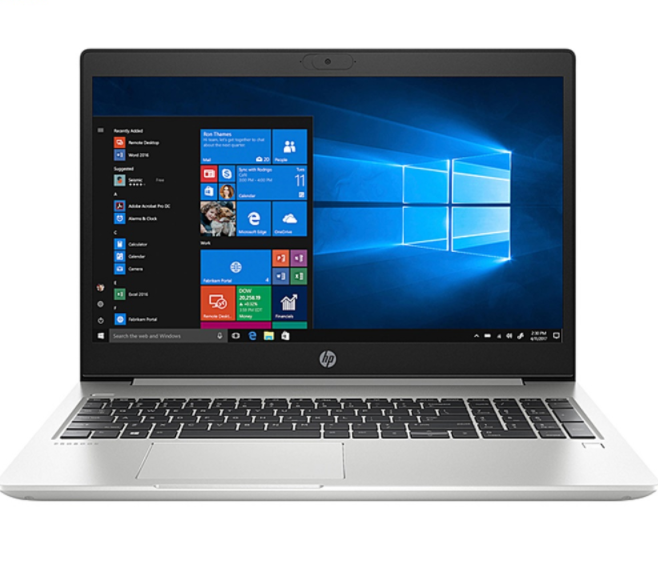 Laptop HP ProBook 445 G7 (1A1A4PA)/ Silver/ AMD Ryzen R3-4300U/ Ram 4GB DDR4/ SSD 256GB/ AMD Radeon Graphics/ 14 inch HD/ FP/ 3Cell/ Win 10SL/ 1Yr