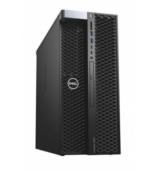 PC Dell Precision 5820 Tower XCTO Base (42PT58DW24)/ Intel Xeon W-2123 (3.6GHz, 8.25 MB)/ Ram 16GB (2x8GB) DDR4/ SSD 256GB + HDD 1TB/ DVDRW/ NVIDIA Quadro P620 2GB GDDR5/ Key & Mouse/ Win 10 Pro/ 3Yrs