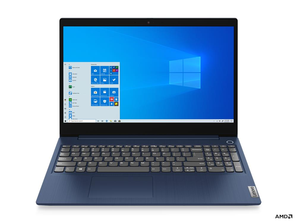 Laptop Lenovo IdeaPad 3 15ADA05 (81W100GUVN)/ Platinum Grey/ AMD Ryzen R3-3250U (2.60 Ghz, 4MB)/ Ram 4GB DDR4/ SSD 256GB/ AMD Radeon Graphics/ 15.6 inch FHD TN/ 2Cell/ Win 10H/ 2Yrs