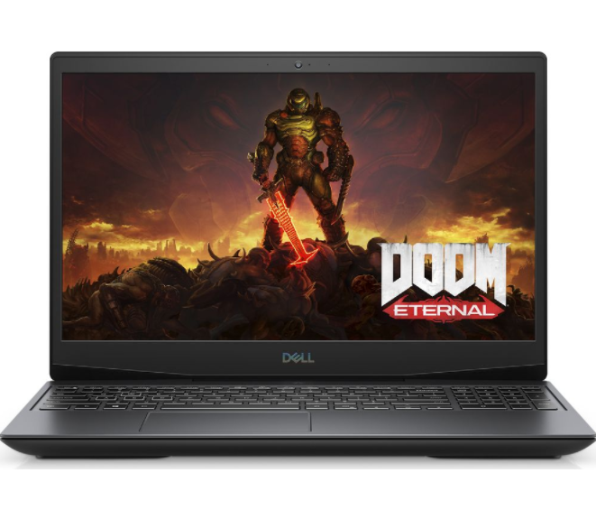 Laptop Dell Gaming G5 15 5500 (70225485)/ Black/ Intel core i7-10750H (2.60GHz, 12MB)/ Ram 2x4GB / SSD 512GB/ NVIDIA GeForce GTX 1660 Ti 6GB/ 15.6 Inch FHD/ FP/ Win10H/ 1Yr