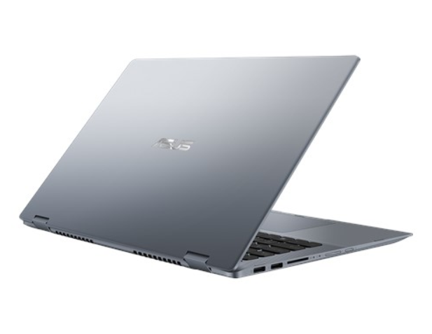 Laptop Asus Vivobook TP412FA-EC609T/ Grey/ Intel core i5-10210U (1.60GHz, 6MB)/ RAM 8GB DDR4/ SSD 512GB/ Intel UHD Graphics/ FP/ 14.0 inch FHD/ Pen/ Win 10/ 2Yrs
