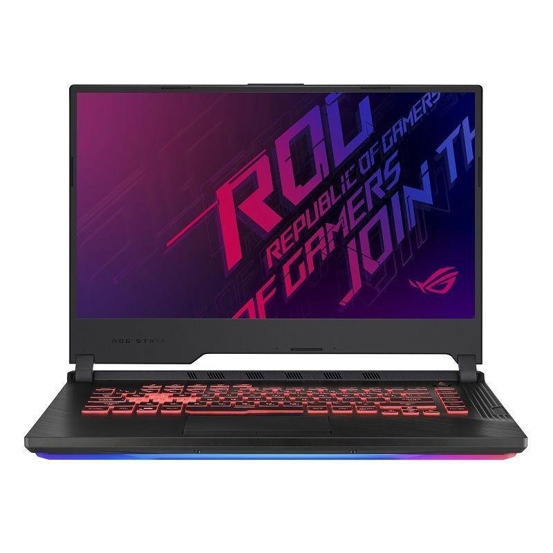 Laptop Asus ROG Strix G G531GT-HN553T/ Black/ Intel Core i5-9300H (2.40GHz, 8MB)/ RAM 8GB DDR4/ SSD 512GB/ NVIDIA GeForce GTX 1650 4GB GDDR5/ 3 Cell/ 15.6 inch FHD IPS 144Hz/ Win 10/ 2Yrs