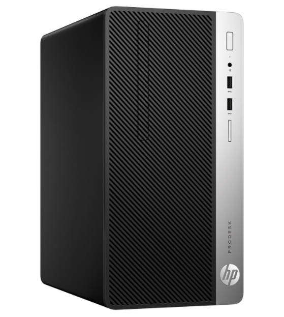PC HP ProDesk 400 G5 MT (5DB33PA)/ Black/ Intel Core i3-8100 (3.60GHz, 6MB)/ Ram 4GB DDR4/ SSD 128GB/ DVDRW/ Intel UHD Graphics/ Key & Mouse/ DOS/ 1Yr