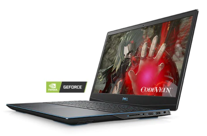 Laptop Dell Gaming G3 G3500B (P89F002)/ Black/ Intel core i7-10750H (2.60GHz, 12MB)/ Ram 2x8GB / SSD 512GB/ NVIDIA GeForce GTX 1660Ti 6GB GDDR6/ 15.6 Inch FHD 120Hz/ FP/ Win10H/ 1Yr