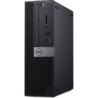 PC Dell Optiplex 7070 SFF/ Intel Core i7-9700 (3.00GHz, 12MB)/ RAM 8GB (1x8GB) DDR4/ SSD 256GB/ Intel UHD Graphics/DP + HDMI Port/ Wifi + BT/ Key & Mouse/ Win10 pro/ 3Yrs