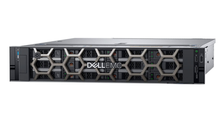 Máy chủ Dell EMC PowerEdge R740/ Intel Xeon Gold 6230 Processor 27.5M Cache, 2.10 GHz/ RAM DDR4 16GB PC4-21300 2666MHz ECC Registered DIMMs/ SSD Intelđ D3-S4510 Series 960GB 2.5 SATA 6Gb/s 3D2 TLC/ DVD+/-RW 8X Slim/ 3Yrs