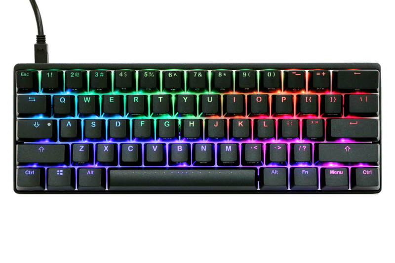Bàn phím cơ Vortex Pok3r (Poker 3) RGB Black Brown switch