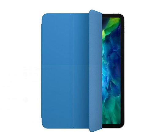 Bao da iPad Pro 11 2020 Smart Folio Suft Blue