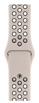 Dây đeo Watch 44mm Desert Sand/Black Nike Sport Band  S/M & M/L