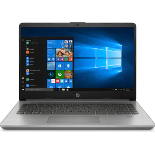 Laptop HP 340s G7 (240Q4PA)/ Grey/ Intel core i3-1005G1 (1.20GHz, 4MB)/ Ram 4GB DDR4/ SSD 256GB/ Intel UHD Graphics/ 14.0 inch FHD/ FP/ 3Cell/ Win 10/ 1Yr