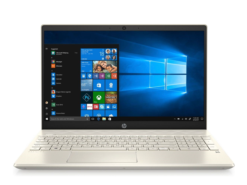 Laptop HP Pavilion 15-eg0006TX (2D9C9PA)/ Gold/ Intel Core i5-1135G7 (up to 4.20 Ghz, 8 MB)/ RAM 8GB DDR4/ 512GB SSD/ 15.6 inch FHD/ NVIDIA GeForce MX450/ WL+BT/ W10SL/ 3 Cell 41 Whr/ 1 Yr