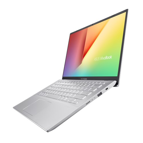Laptop ASUS Vivobook A412FA-EK1178T/ Silver/ Intel core i3-10110U (2.10GHz, 4MB)/ Ram 4GB DDR4/ SSD 512GB/ Intel UHD Graphics/ 14.0 inch FHD/ FP/ Win 10/ 2Yrs