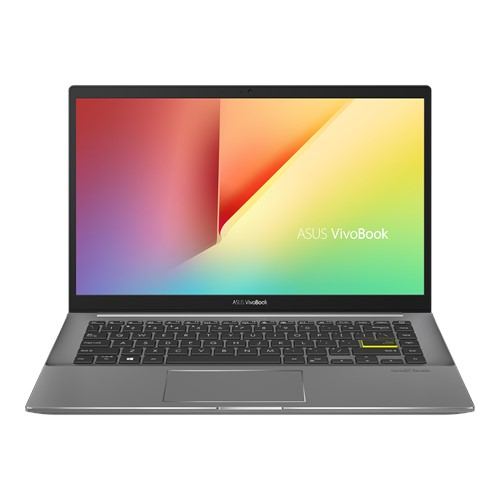 Laptop Asus VivoBook S14 M433IA-EB619T/ Black/ AMD Ryzen R7-4700U (2.0GHz, 8MB)/ Ram 8GB DDR4/ SSD 512GB/ AMD Radeon Graphics/ 14.0 inch FHD/ 3Cell/ Numpad/ Win 10SL/ 2Yrs