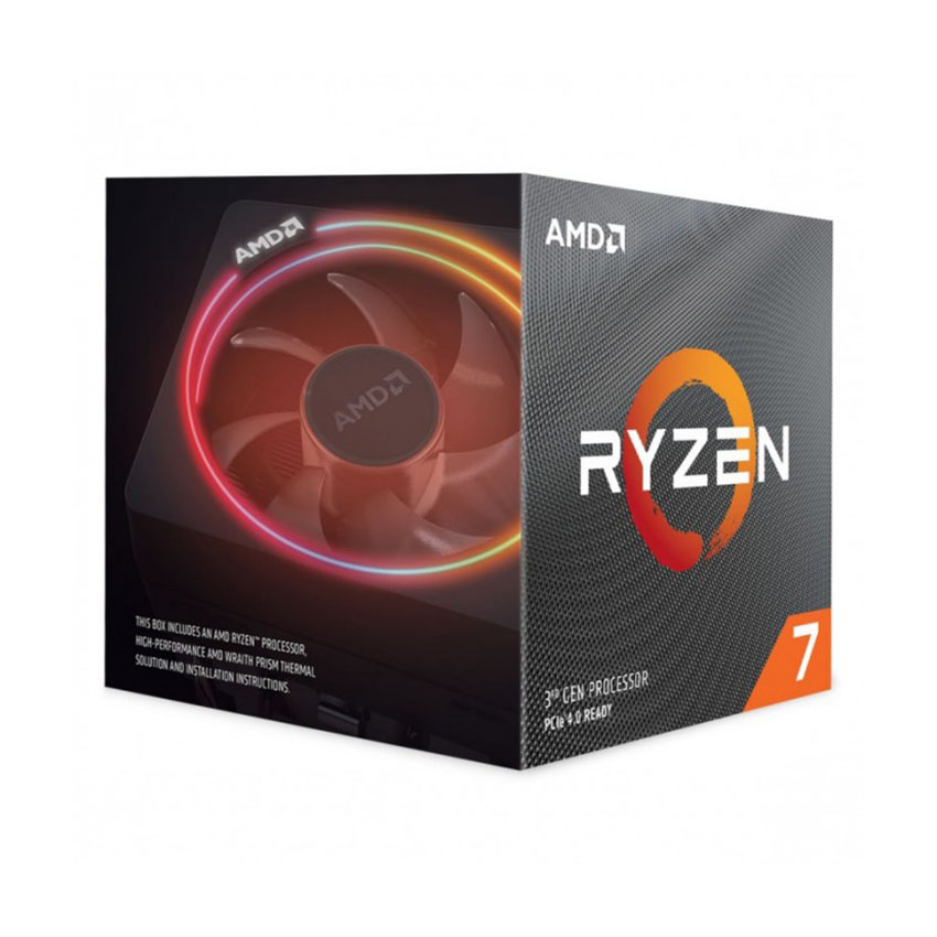 Bộ vi xử lý CPU AMD Ryzen 7 3800XT (3.9 GHz turbo upto 4.7GHz / 36MB / 8 Cores, 16 Threads / 105W / Socket AM4)