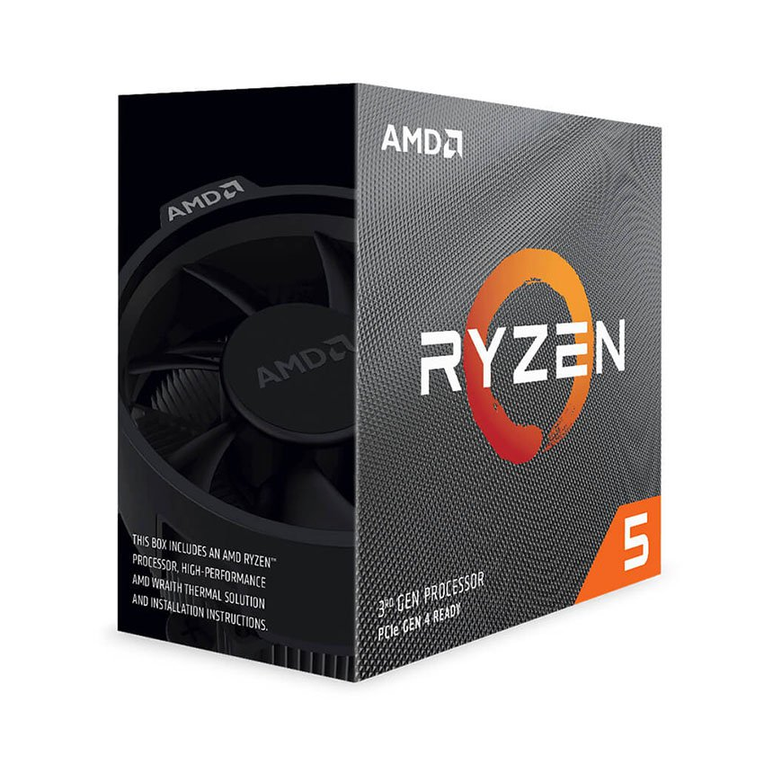 Bộ vi xử lý CPU AMD Ryzen 5 3500X (3.6GHz turbo up to 4.1GHz, 6 nhõn 6 lu?ng, 32MB Cache, 65W) - Socket AMD AM4
