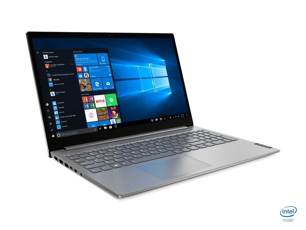 Laptop Lenovo ThinkBook 15-IML (20SM00A1VN)/ Grey/ Intel core i5-1035G1 (1.00GHz, 6MB)/ Ram 8GB DDR4/ SSD 512GB/ AMD Radeon 630 2GB/ 15.6 inch FHD/ DOS/ 1Yr