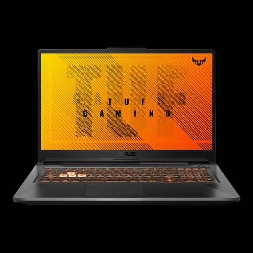 Laptop Asus TUF Gaming A17 FA706IH-H7014T/ Grey/ AMD Ryzen R5-4600H (3.00Ghz, 8MB)/ RAM 8GB DDR4/ SSD 512GB/ NVidia Geforce GTX 1650 4GB GDDR6/ 17.3 inch FHD/ Win 10/ 2Yrs