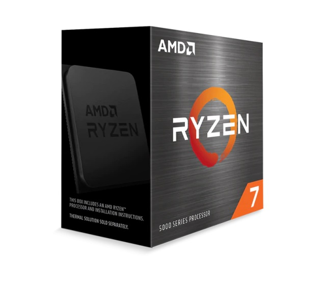 Bộ vi xử lý CPU CPU AMD Ryzen 7 5800X  (3.8 GHz (4.7GHz Max Boost) / 36MB Cache / 8 cores, 16 threads / 105W / Socket AM4)