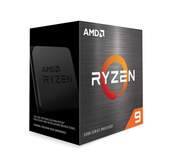 Bộ vi xử lý CPU AMD Ryzen 9 5900X (3.7 GHz (4.8GHz Max Boost) / 70MB Cache / 12 cores, 24 threads / 105W / Socket AM4)