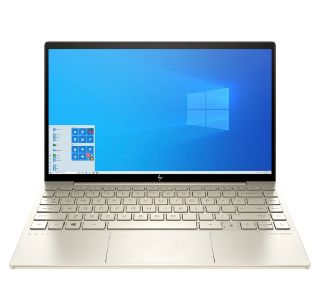 Laptop HP ENVY 13-ba1027TU (2K0B1PA)/ Gold/ Intel Core i5-1135G7 ( upto 4.2GHz, 8MB)/ Ram 8GB DDR4/ SSD 256GB/ Intel Iris Xe Graphics/ 13.3 inch FHD/ FP/3Cell/ OFFICE/ Win 10SL/ 1Yr
