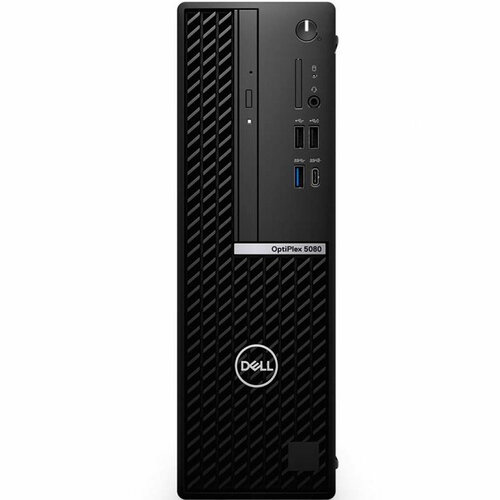 PC Dell OptiPlex 5080 SFF/ Intel(R) Core(TM) i7-10700, 16 MB Cache, 8Cores, 16 Threads, 2.9 GHz to 4.8 GHz, 65 W/Ram 16GB RAM,1 x 16GB, DDR4, 2666 MHz/3.5-inch, 1TB, 7200 RPM,SATA/ HDD/ 8x DVD+/- RW 9,5mm/ Mouse & Key/ 3Yrs