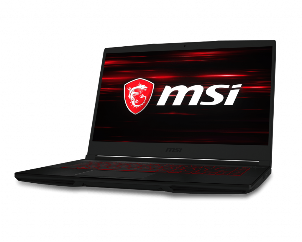 Laptop MSI GF63 Thin 9SCSR (829VN)/ Black/ Intel Core i5-9300H (2.4GHz, 8MB)/ Ram 8GB DDR4/ SSD 512GB/ NVIDIA GeForce GTX1650Ti Max-Q 4GB GDDR6/ 15.6 inch FHD/ WL+BT/ 3Cell/ Win 10H/ 1Yr