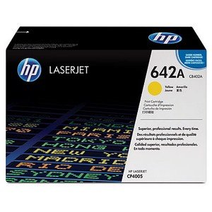 Mực in HP 642A Yellow LaserJet Toner Cartridge (CB402A)
