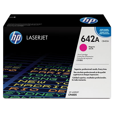 Mực in HP 642A Magenta LaserJet Toner Cartridge (CB403A)