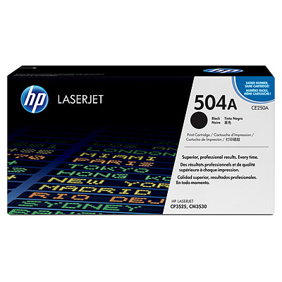 Mực in HP 504A Black LaserJet Toner Cartridge (CE250A)