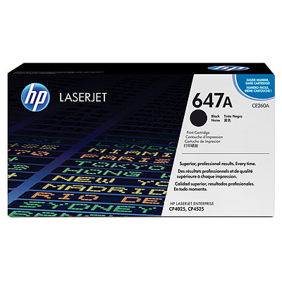 Mực in HP 647A Black LaserJet Toner Cartridge (CE260A)