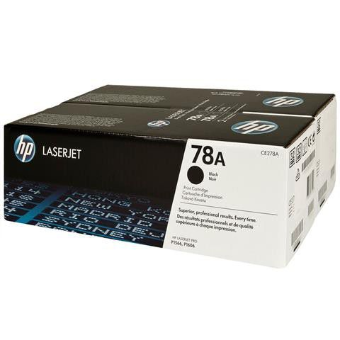 Mực In HP 78A Black Original LaserJet Toner Cartridge (Dual Pack) CE278AD 618EL