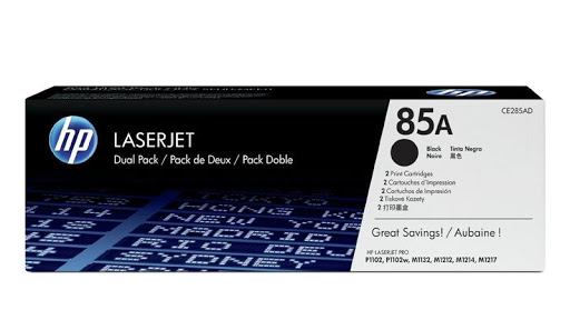 Mực In HP 85A Black Original LaserJet Toner Cartridge (Dual Pack) CE285AD 618EL
