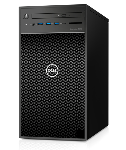 PC Dell Precision 3640 Tower CTO BASE (42PT3640D09)/ Intel Xeon W-1250 (3.3GHz, 12MB)/ Ram 8GB(1x8GB) DDR4/ HDD 1TB/ Nvidia Quadro P1000, 4GB, 4 mDP/ DVDRW/ Key + Mouse/ Ubuntu/ 3Yrs