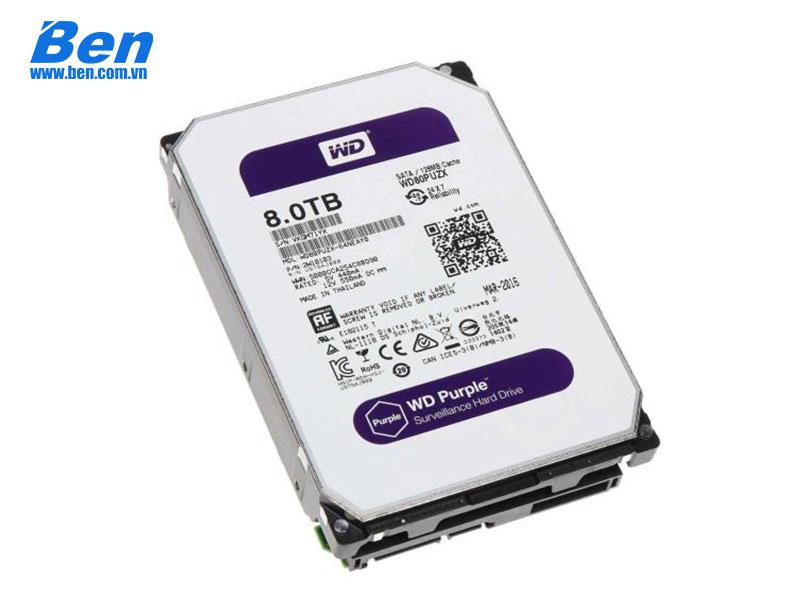 HDD Western Purple 8Tb SATA3 5400rpm 3.5 256Mb