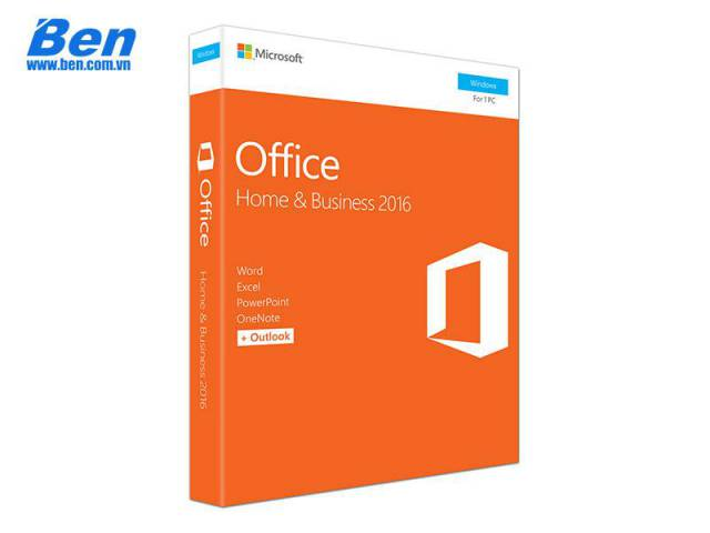 PM Office Home and Business 2016 32-bit/x64 English APAC EM DVD