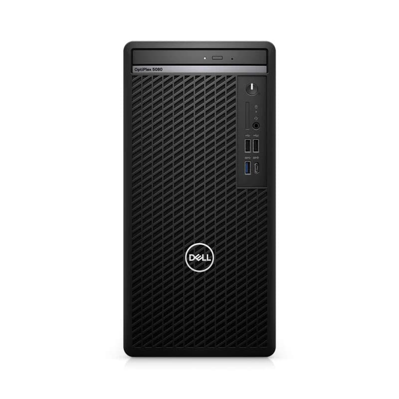 PC Dell OptiPlex 5080 Tower (70228815)/ Intel Core i5-10500 (3.10GHz, 12MB)/ Ram 8GB DDR4/ SSD 256GB/ Intel UHD Graphics/ DVDRW/ Key + Mouse/ Ubuntu/ 3Yrs