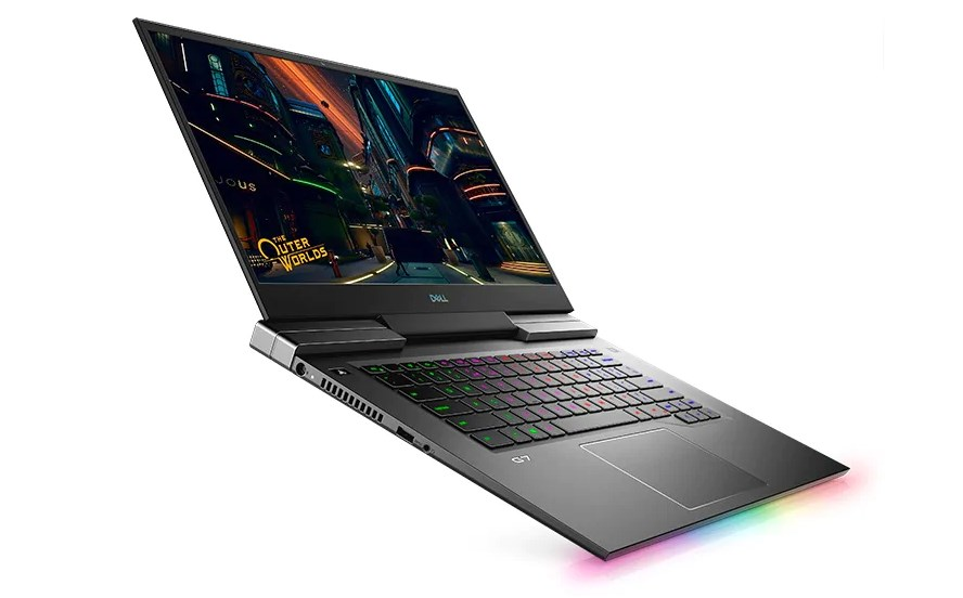 Laptop Dell Gaming G7 7500 (G7500B)/ Intel Core i7-10750H (2.60GHz, 12MB)/ Ram 8GB (2x4GB) DDR4/ SSD 512GB/ NVIDIA GeForce GTX 1660Ti 6GB GDDR6/ 15.6 inch FHD WVA 144Hz/ FP/ Win 10SL/ 1Yr