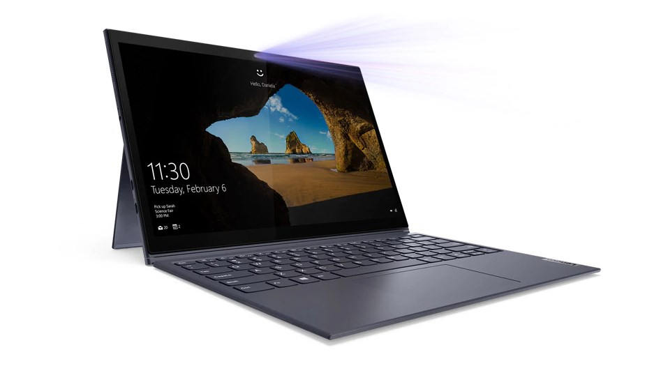 Laptop Lenovo Yoga Duet 7 13IML05 (82AS009BVN) / ORCHID/ Intel Core  i7-10510U (1.8 GHz, 8MB)/ RAM 8GB DDR4/ 512GB SSD/ 13 inch WQHD/ Digital Pen/ 4 Cell/ Win 10H/ Touch/ 2 Years