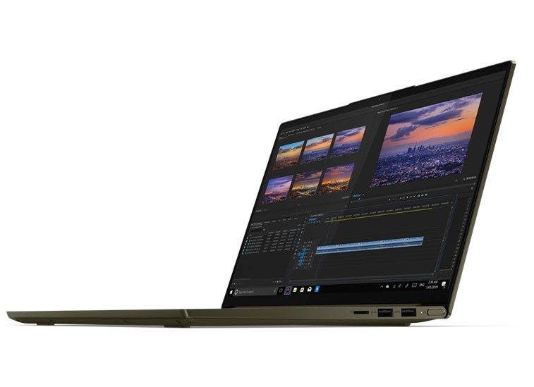 Laptop Lenovo Yoga Slim 7 14ITL05 (82A3002QVN)/ Dark Moss/ Intel Core i5-1135G7 (up to 4.20GHz, 8MB)/ RAM 8GB DDR4/ 512GB SSD/ 14 inch FHD/ 4 cell/ Win 10H/ 2 years