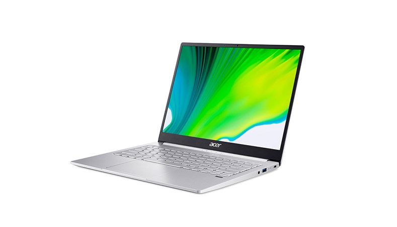 Laptop Acer Swift 3 SF313-53-503A (NX.A4JSV.002)/ Sparkly Silver/ Intel Core i5-1135G7 (2.40 GHz, 8MB)/ RAM 8 GB/ 512GB SSD/ Intel Iris Xe Graphics/ 13.5 inch QHD LCD/ 56Wh Li-ion battery/ Win 10H/ 1 year