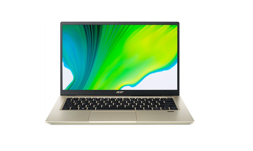 Laptop Acer Swift 3X SF314-510G-57MR (NX.A10SV.004)/ Safari Gold/ Intel Core i5-1135G7  (2.40 GHz, 8MB)/ RAM 8GB/ 512GB SSD/ Intel Iris Xe Max Graphics (DG1)/ 14 inch FHD/ 58.7 Wh 4-cell Li-ion battery/ Win 10H/ 1 year