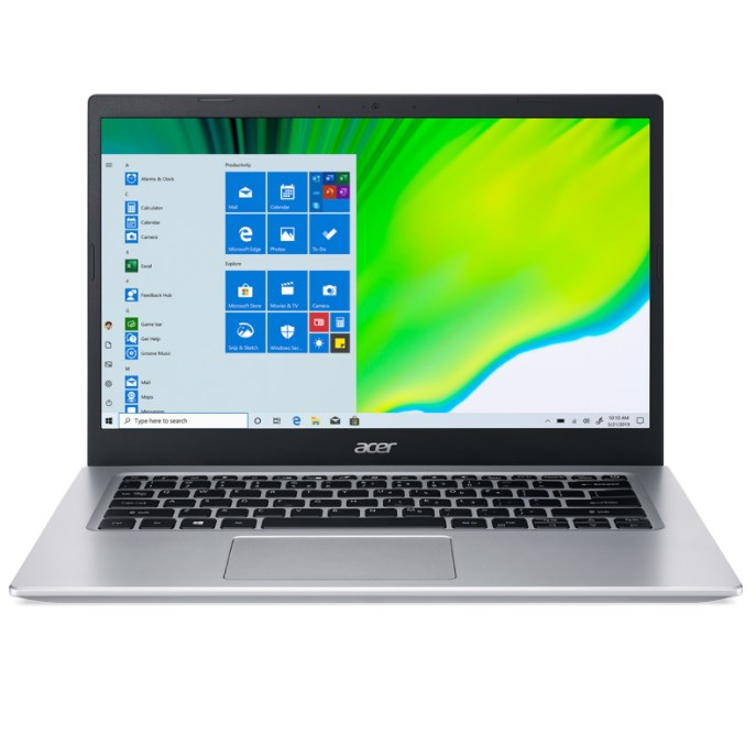 Laptop Acer Aspire 5 A514-54-51VT(NX.A23SV.004)/ Pure Silver/ Intel Core i5-1135G7 (2.40 GHz, 8MB)/ RAM 8GB/ 512GB SSD/ Intel Iris Xe Graphics/ 14 inch FHD LED LCD/ 48 Wh/ Win 10H/ 1 Year
