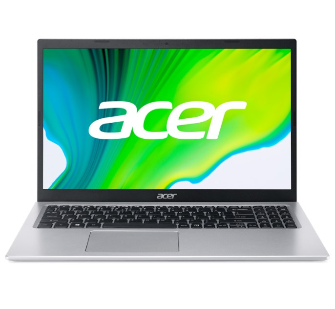 Laptop Acer Aspire 5 A515-56-54PK (NX.A1GSV.002)/ Pure Silver/ Intel Core i5-1135G7 (2.40 GHz, 8MB)/ RAM 8GB/ 512GB SSD/ Intel Iris Xe Graphics/ 15.6 inch FHD LED LCD/ 48 Wh/ Win 10H/ 1 Year