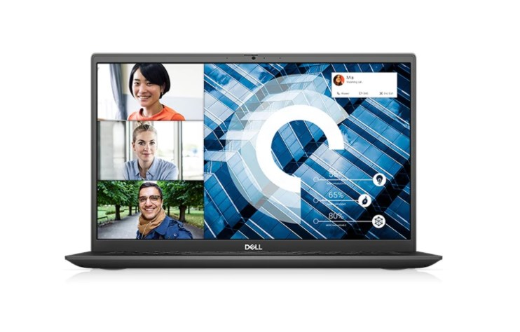 Laptop Dell Vostro 5301 (V3I7129W)/ Vintage Gray/  Intel Core i7 - 1165G7 (up to 4.70 Ghz, 12MB)/ RAM 8GB DDR4/ 512GB SSD/ NVIDIA GeForce MX350 2GB/ 13.3 inch FHD 300N/ FP/ Dune/ Premium Support/ 3 cell/ Win 10/ 1 Yr