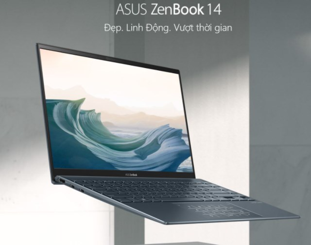 Laptop Asus ZenBook 14 UX425EA-BM113T/ Xám/ Intel Core i7-1165G7 (up to 4.70GHz, 12MB)/ RAM 16GB DDR4/ 512GB SSD/ Intel Iris Xe Graphics/ 14 inch FHD Anti Glare/ 4 cell/ Win 10H/ 2 Years