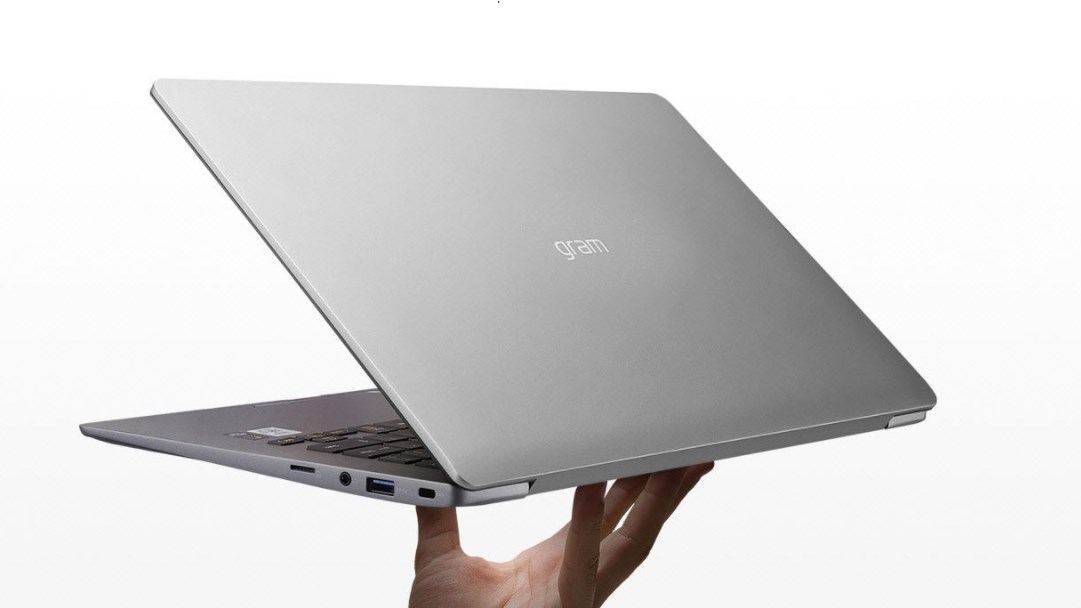 Laptop LG 14Z90N-V.AR52A5/ Dark Silver/ Intel Core i5-1035G7 (1.20 Ghz, 8MB)/ RAM 8GB DDR4/ 256GB SSD/ Intel Iris Plus Graphics/ 14 inch FHD IPS/  FP/ 72 Wh/ Win 10H/ 1 Yr