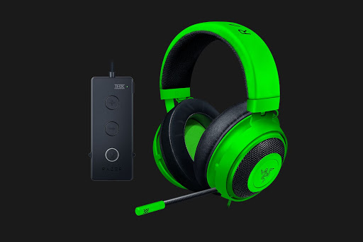Tai nghe chơi game Razer Kraken Tournament Edition Wired Gaming Headset Green
