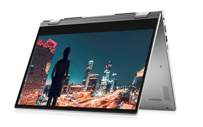Dell Inspiron 14 5406 (TYCJN1)/ Grey/ Intel Core  i7-1165G7 (up to 4.70 Ghz, 12MB)/ RAM 8GB DDR4/ 512GB SSD/ 14 inch FHD IPS/Touch/ NVIDIA GeForce MX330 2GB/ FP/ 3 Cell/ LED_KB/ Win 10SL/ 2 in 1/ 1 Yr/ PreSup